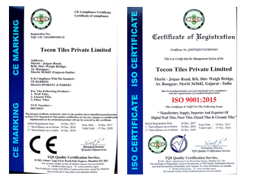Quality accredited with ISO 9001: 2008